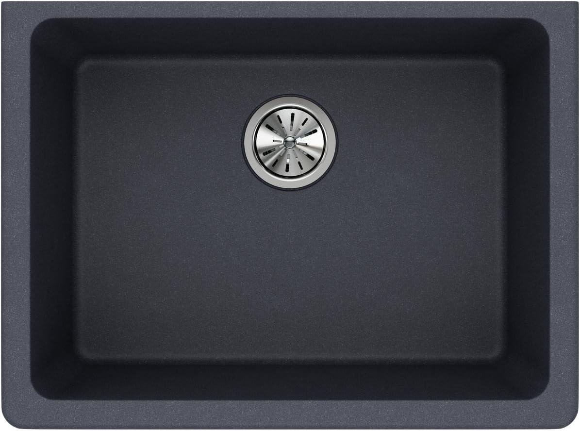 build a mitre saw stand: Elkay ELGU2522GY0 Quartz Classic Single Bowl Undermount Sink