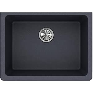 Elkay Quartz Classic ELGU2522GY0 Dusk Gray Single Bowl Undermount Sink