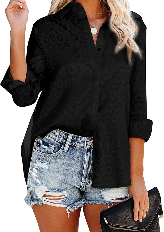 iHPH7 Fashion Womens Long Sleeve O Neck Pocket T Shirts Loose Casual Blouses