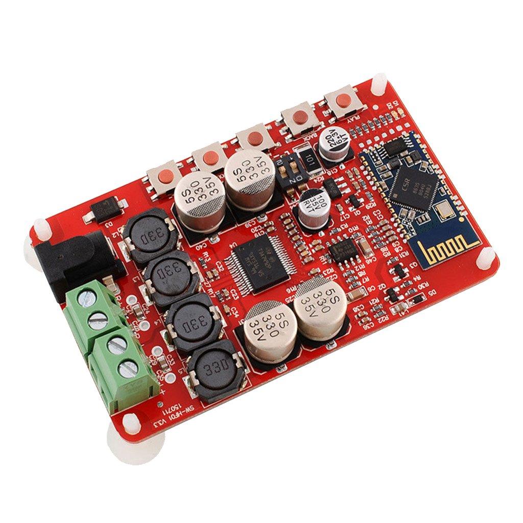 P Prettyia Tda7492p 50w + 50w Sin Hilos del Receptor 4.0 Tablero Digital del Amplificador