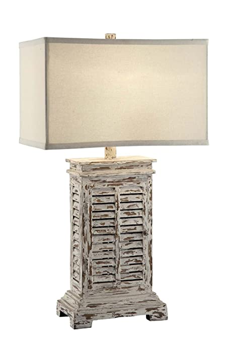 Amazon crestview collection shutter tower table lamp gray crestview collection shutter tower table lamp gray aloadofball Images