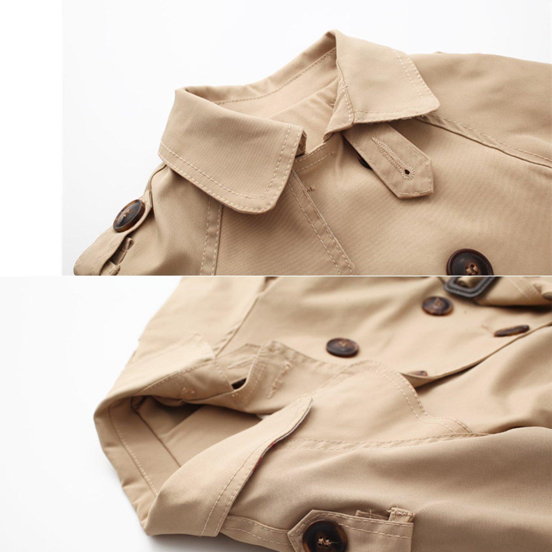 De feuilles Toddler Baby Kid Girls Trench Coat Windbreaker Outwear Princess Bowknot Belt Jackets Clothes