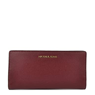 0bfc871a2da MICHAEL by Michael Kors Money Pieces Oxblood Large Card Case Carryall Wallet  one size Oxblood: Amazon.co.uk: Clothing
