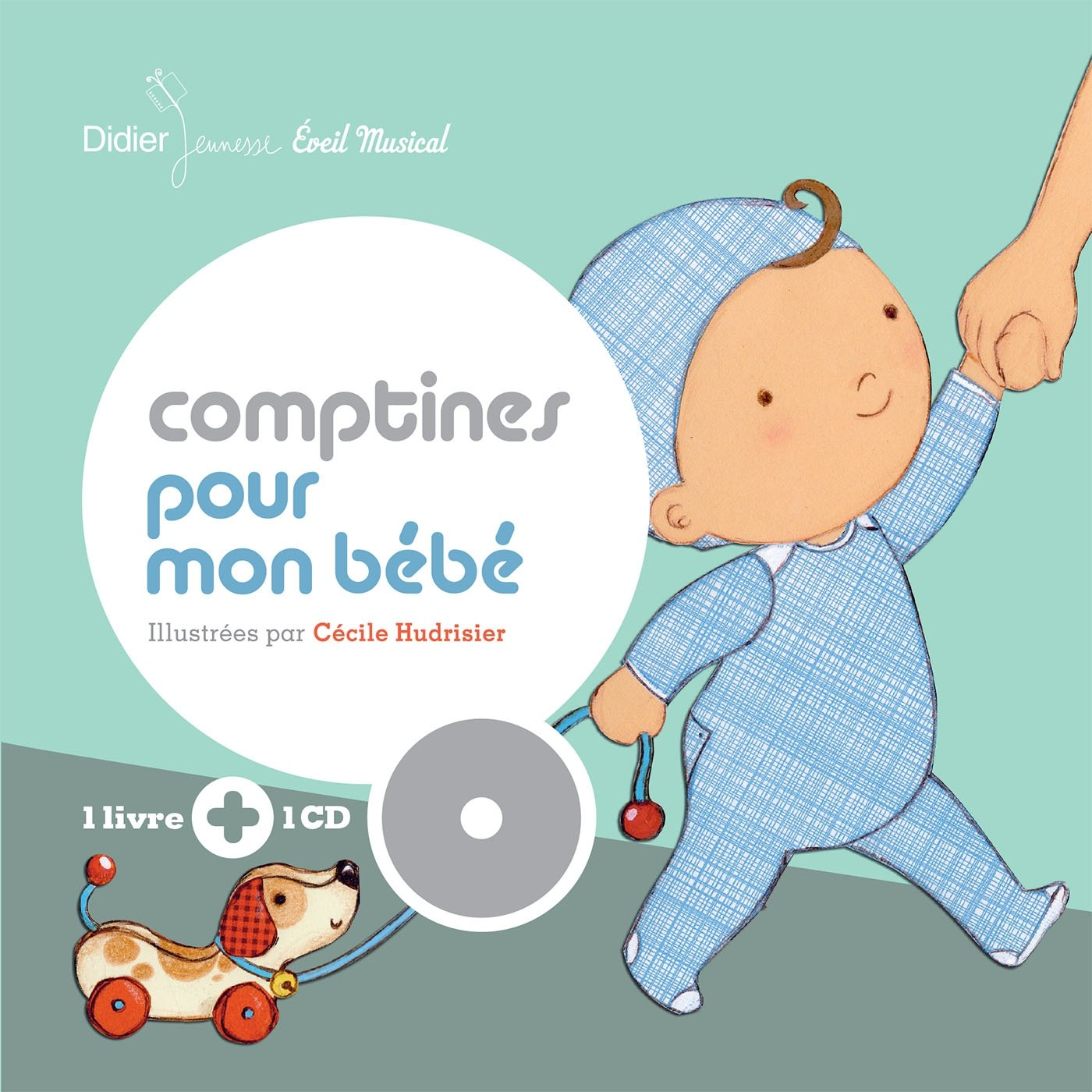 Comptines Pour Mon Bebe Livre Cd French Edition