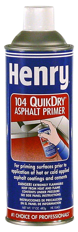 Henry He104qo27 17 Oz Aerosol Asphalt Primer (Pack of 6)