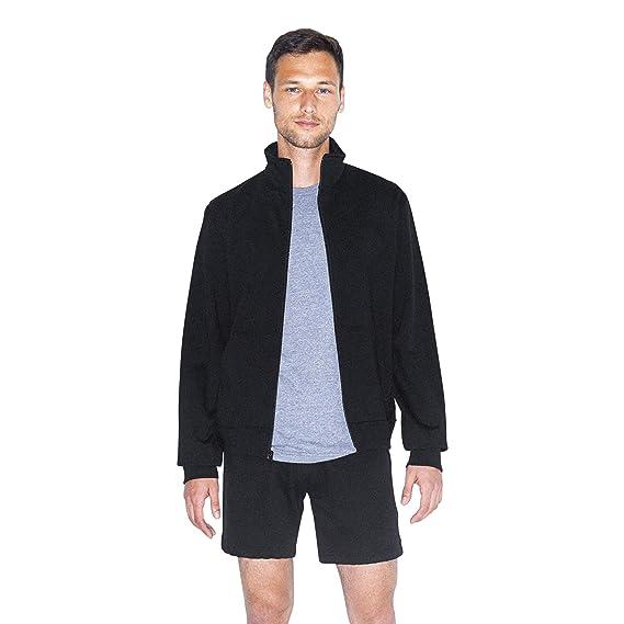 American Apparel unisex-adult California Fleece Long Sleeve Track Jacket