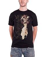 Behemoth Herren T Shirt Schwarz Death Angel Floating band logo offiziell