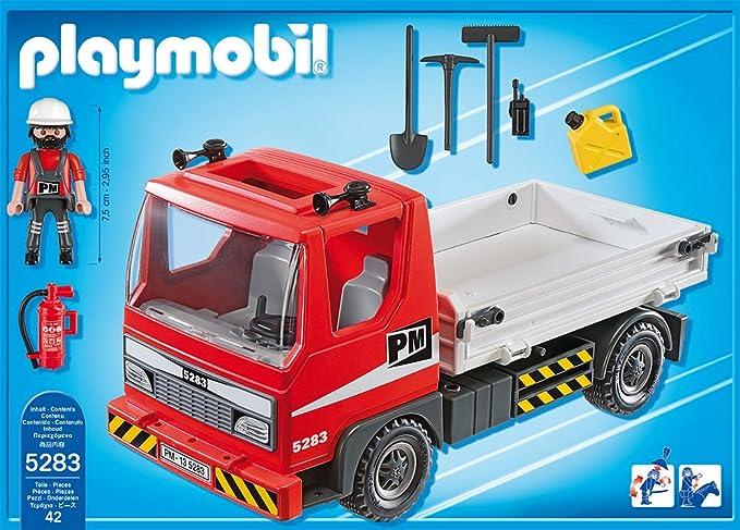 Playmobil City Action Baustellen LKW 5283 Bau Citylife