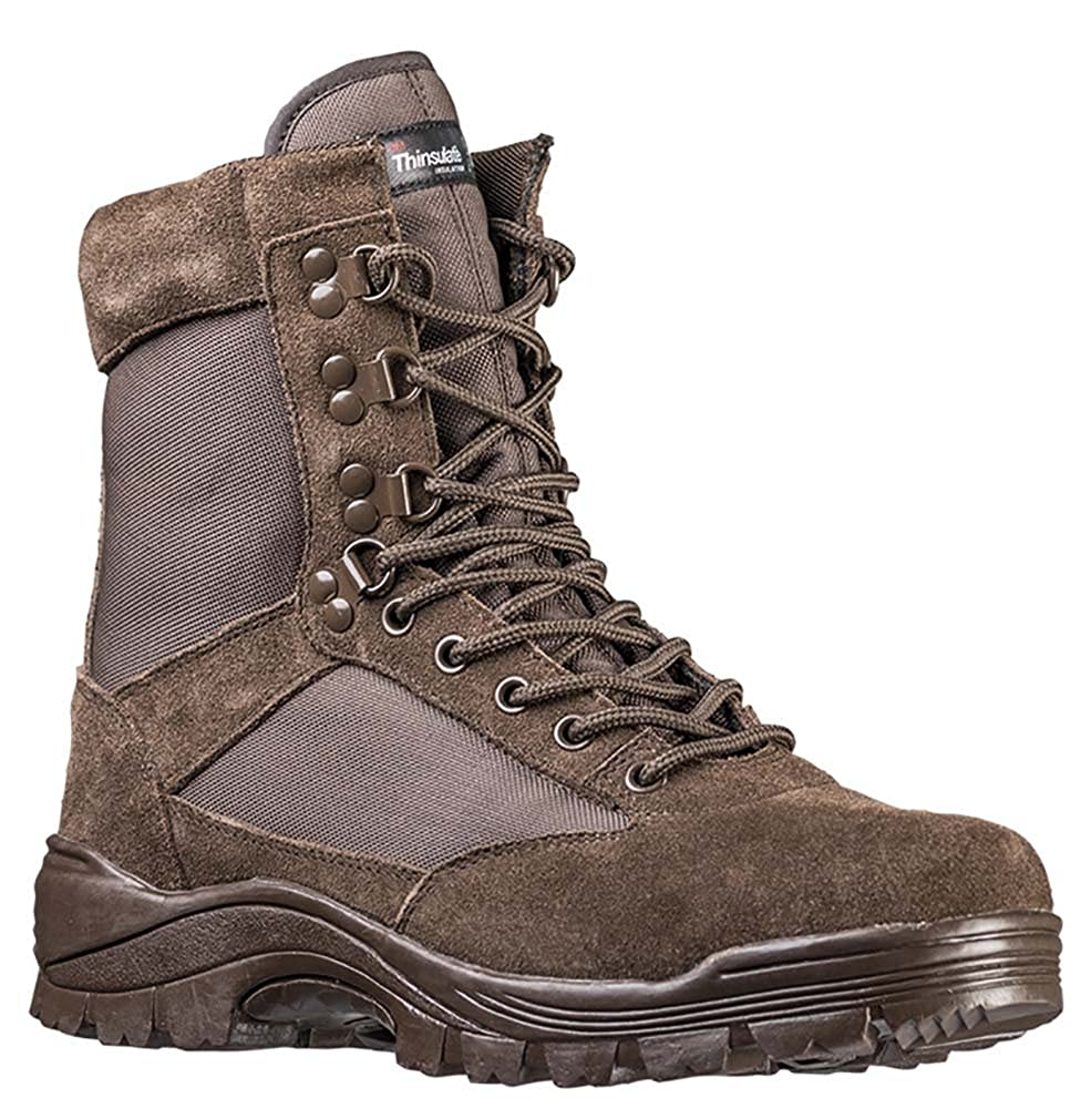 Mil-Tec Tactical Army Boots with Side Zip 12822102