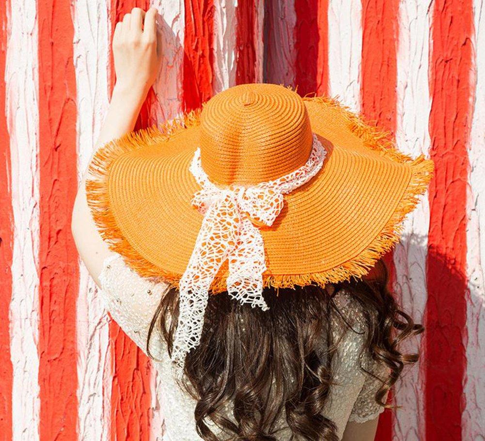 e461e2a660e72 Da. WA verano sombrero moda Spinning playa sol sombrero para las mujeres  niñas rosa Rosy Da.