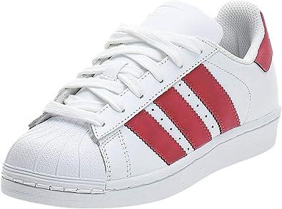 adidas Originals Superstar J, Basket Mixte Enfant, Blanc, 39