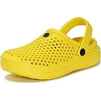 Zuecos y Mules Jardín para Niños Zapatillas de Verano Niñas Piscina Sandalias de Playa Antideslizante Pantuflas Zapatos…