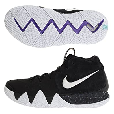 huge selection of cb5f5 021b8 Nike Men s Kyrie 4 EP, Black White, 12 UK  Amazon.co.uk  Shoes   Bags