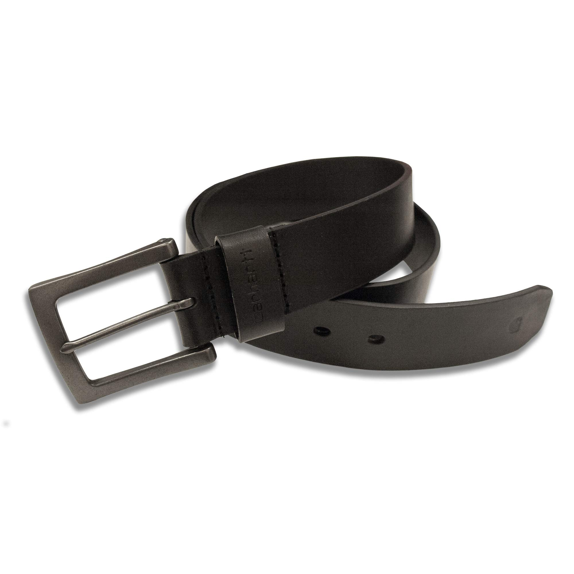 Carhartt Men's Signature Casual Belt, Anvil Black 40