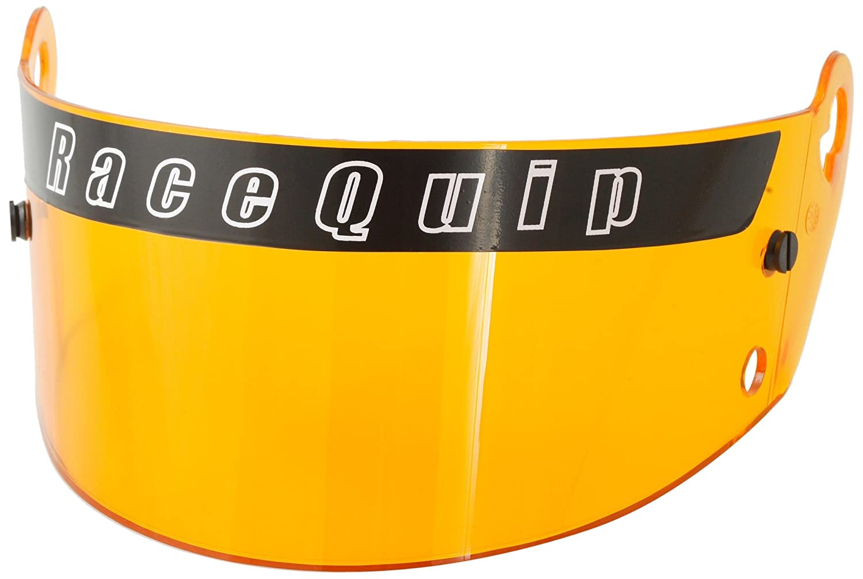 RaceQuip 202006 RidgeLine SA-2005 Amber SA-2005 Helmet and Youth Helmet Shield