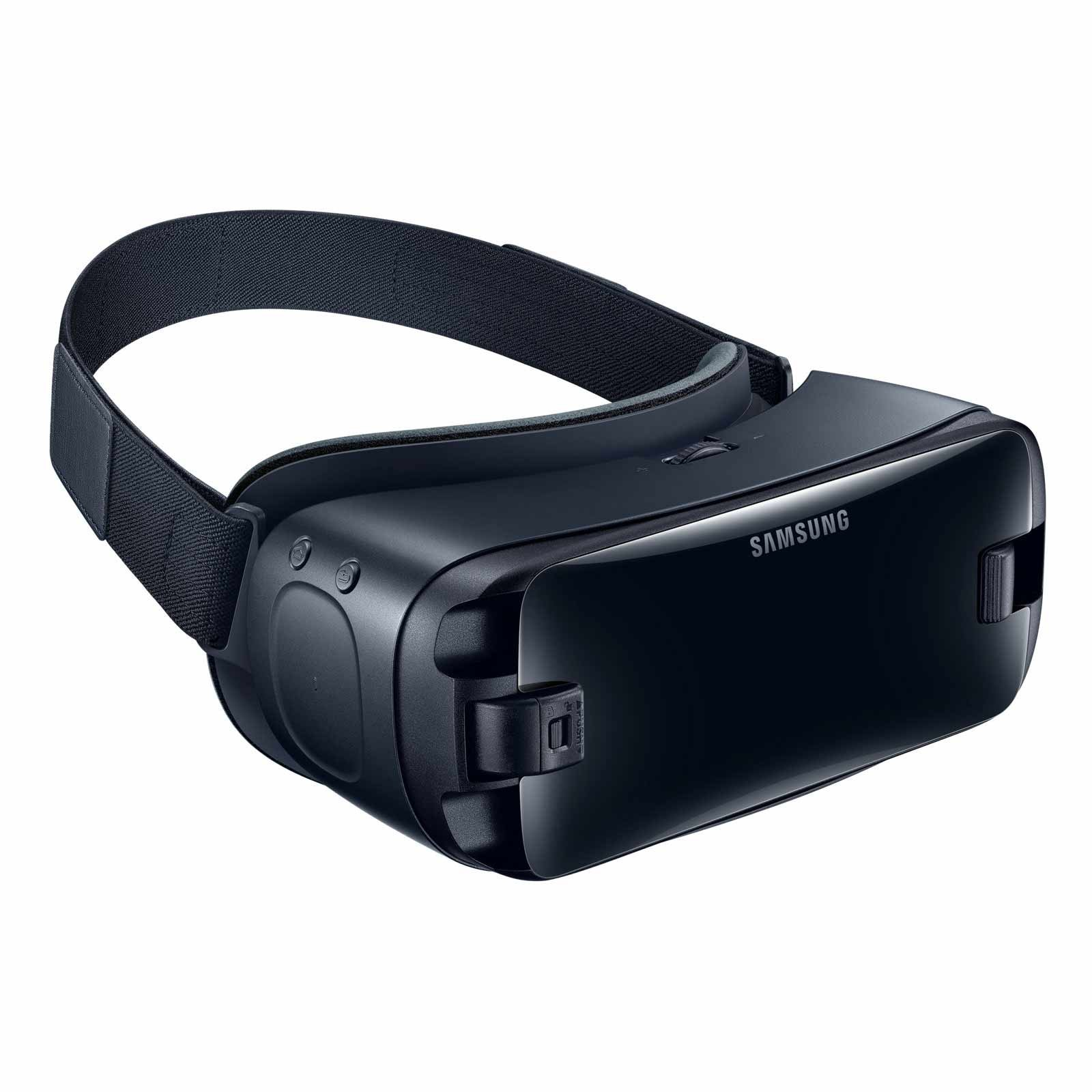Samsung Gear VR (2017 Edition) with Controller Virtual Reality Headset SM-R325 for Galaxy S8, S8+, S7, S7 edge, Note5, Note 8, S6 edge+, S6, S6 edge (International Version, No Warranty) by Samsung (Image #7)
