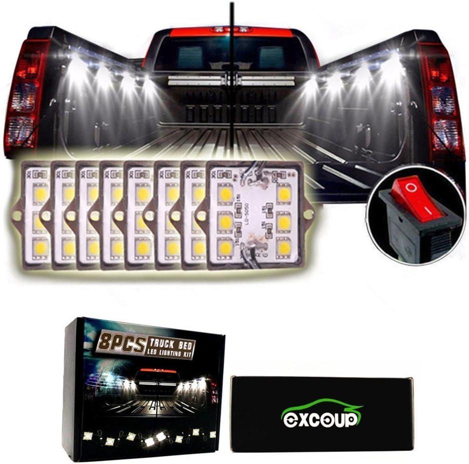 Excoup LED Lights for Truck Bed LED Lighting Kit