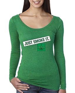 Wild Bobby Just Smoke It Funny Stoner Marijuana Mens Weed Graphic Tank Top