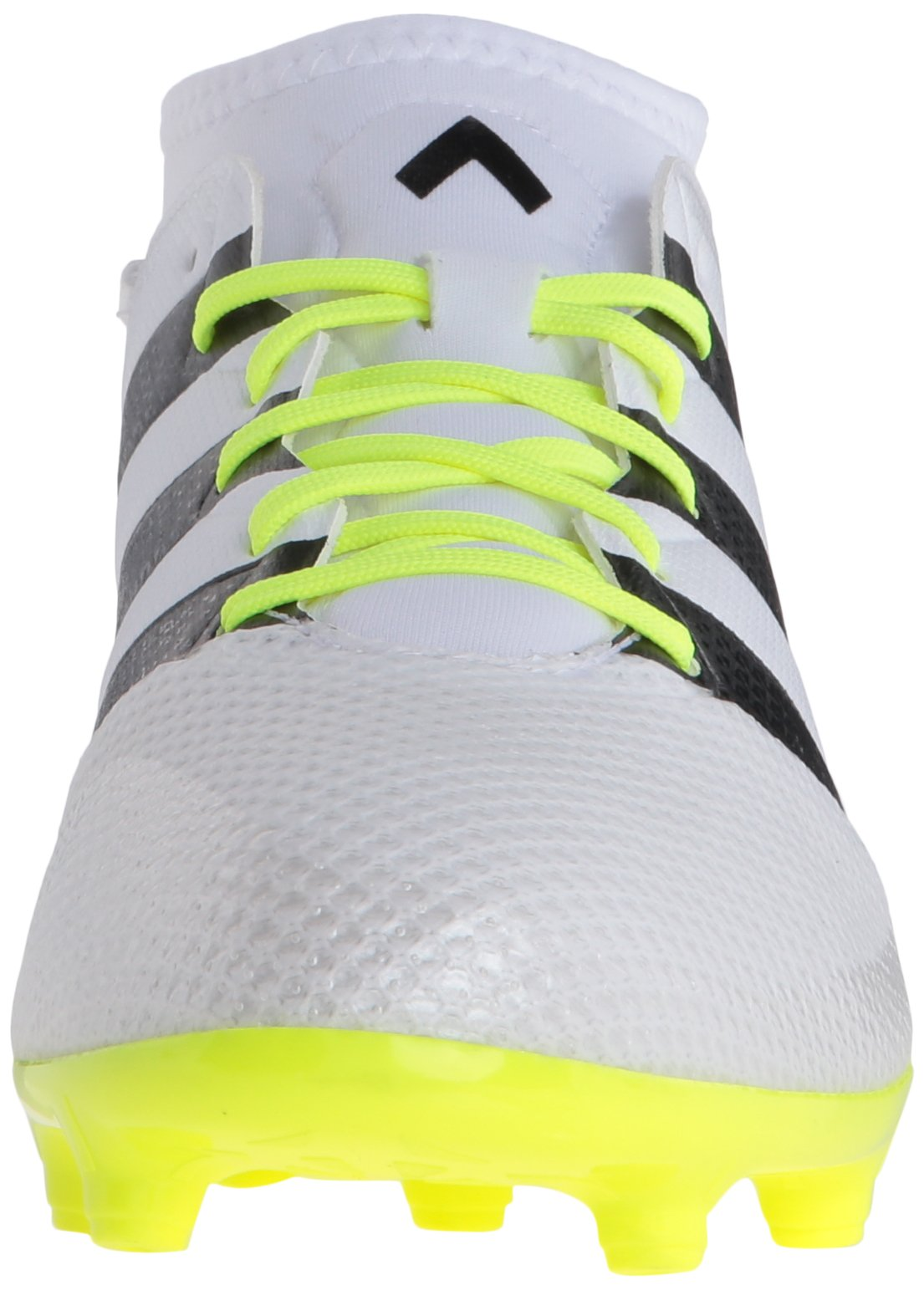 adidas Women's Ace 16.3 Primemesh FG/AG W Soccer Shoe, White/Black/Electricity, 9 M US by adidas (Image #4)
