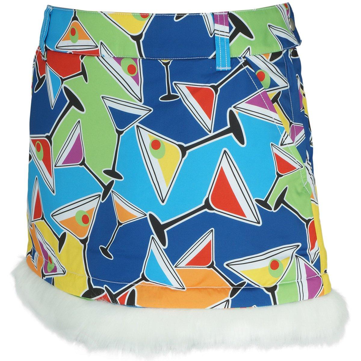 ラウドマウスゴルフ Loud Mouth Golf スカート 中綿スカート レディス コックテイルパーティ 059 L   B0776SYTF7