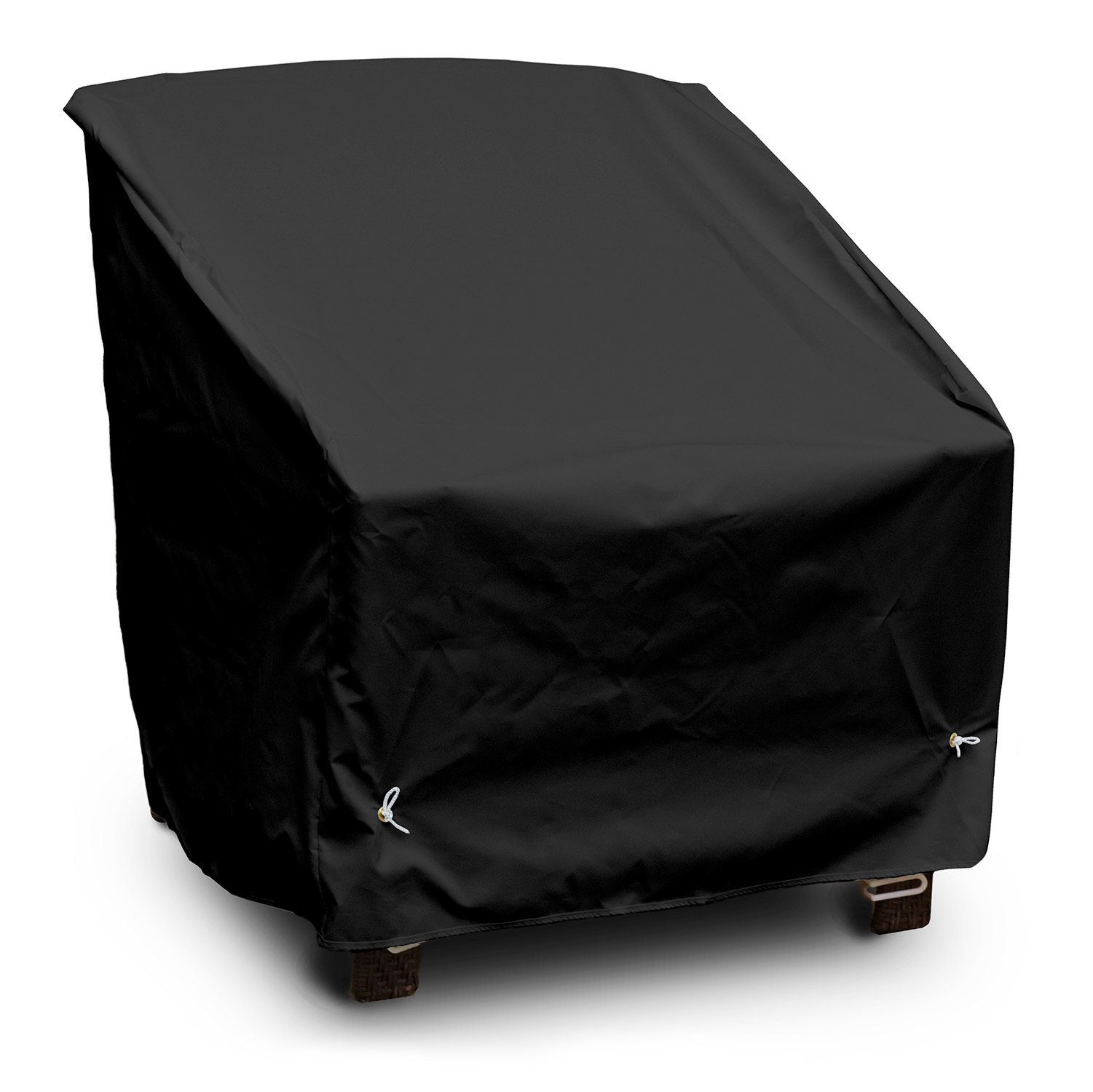 KoverRoos Weathermax 76250 Deep Seating High Back Chair Cover, 34-Inch Width by 35-Inch Diameter by 37-Inch Height, Black
