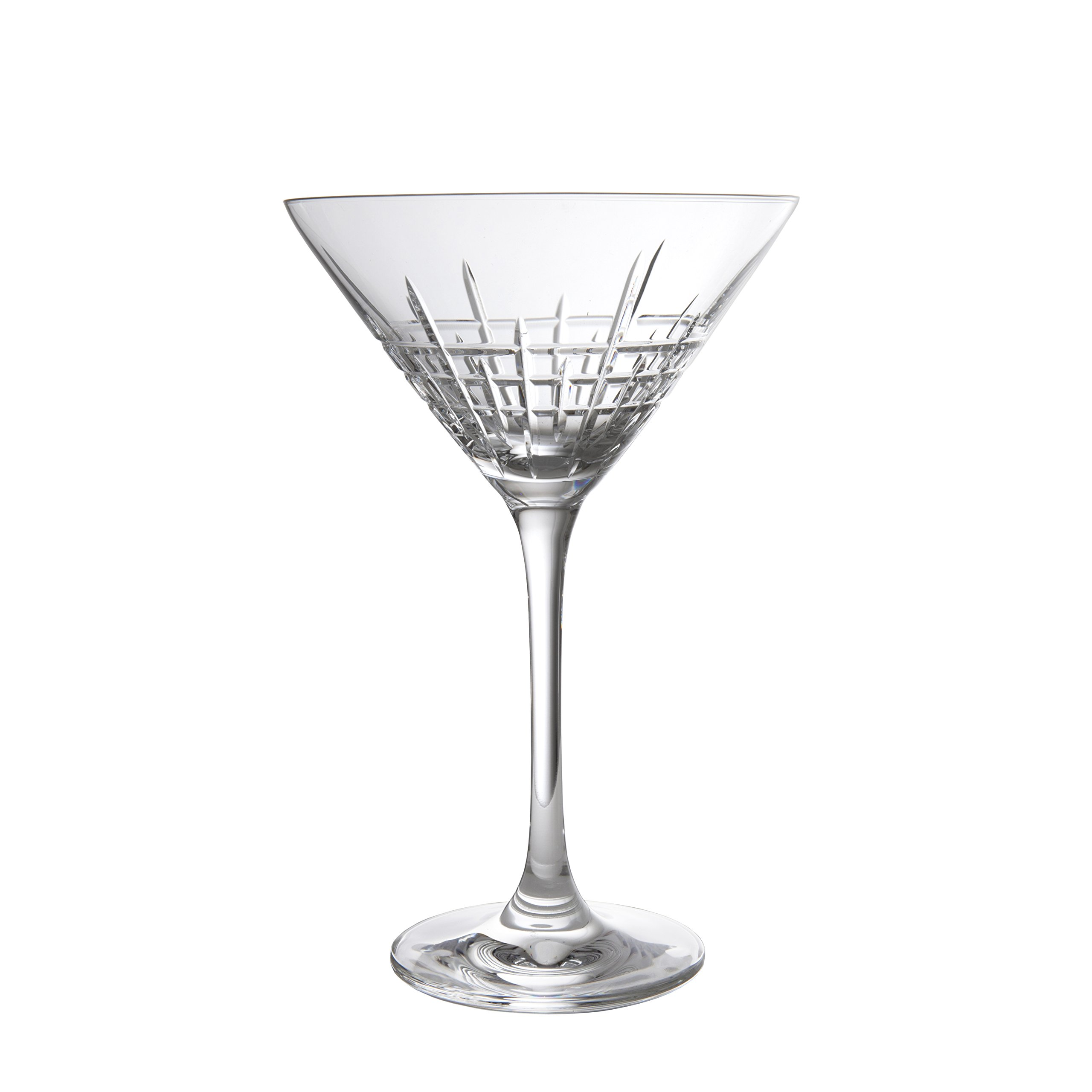 Schott Zwiesel Tritan Crystal Glass Distil Barware Collection Aberdeen Martini Cocktail Glasses (Set of 6), 8.5 oz, Clear