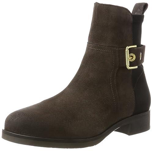 Tommy Hilfiger T1285essa HG 2c - Botines Mujer: Amazon.es: Zapatos y complementos