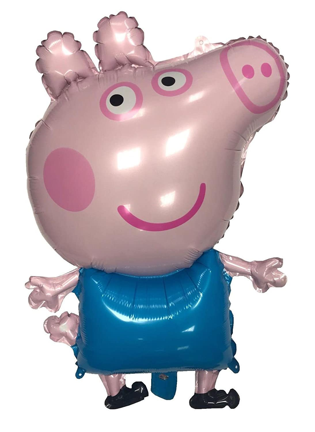Balloon+ 32 Large GEORGE Pig Foil Helium Air Birthday Party Bunting Peppa