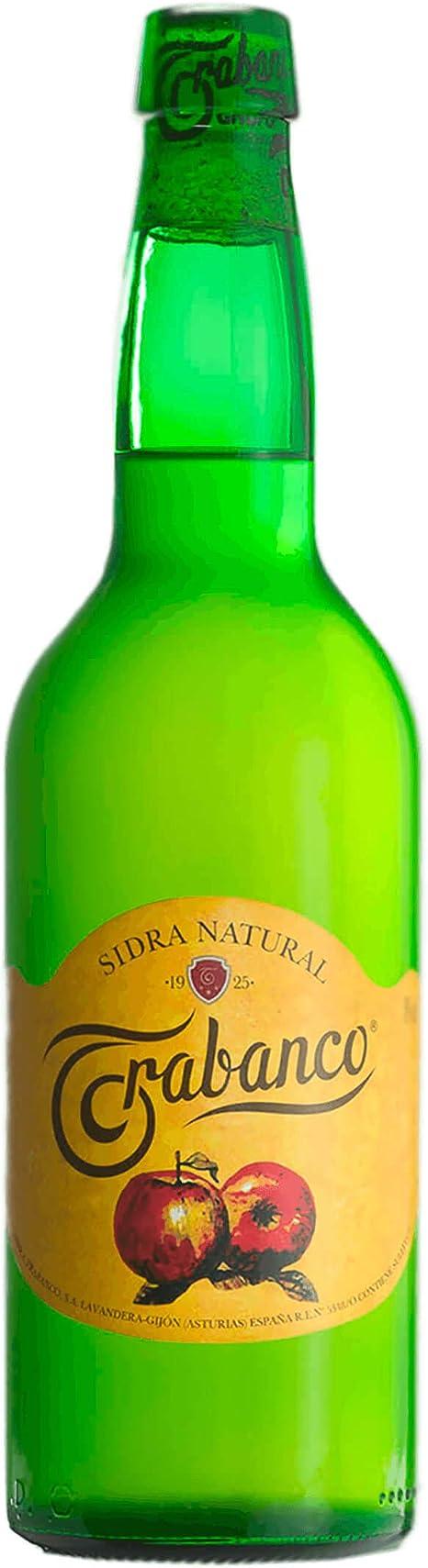 Trabanco Sidra Natural. Caja de 6 Botellas de 70 cl