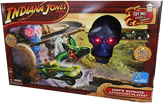Hasbro Indys Ultimate Adventure Indiana Jones - Figura Decorativa de Calavera de Cristal: Amazon.es: Juguetes y juegos