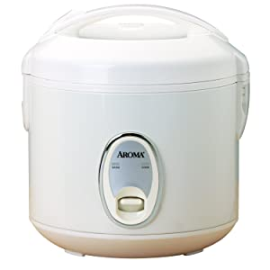 Aroma Housewares 8-Cup (Cooked)(4-Cup UNCOOKED) Cool Touch Rice Cooker (ARC-914S)