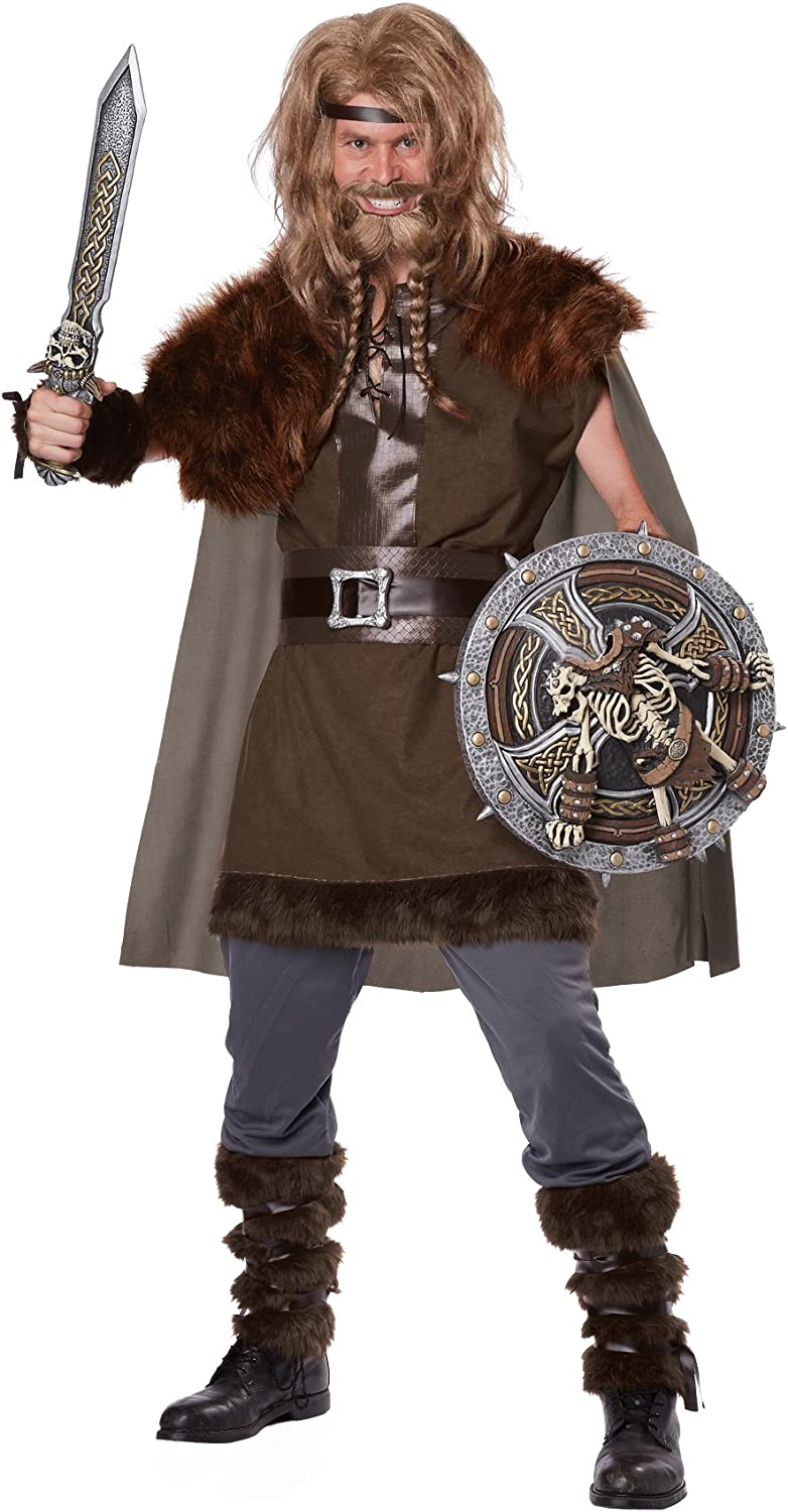 Amazon Com California Costumes Men S Mighty Viking Norse God Clothing