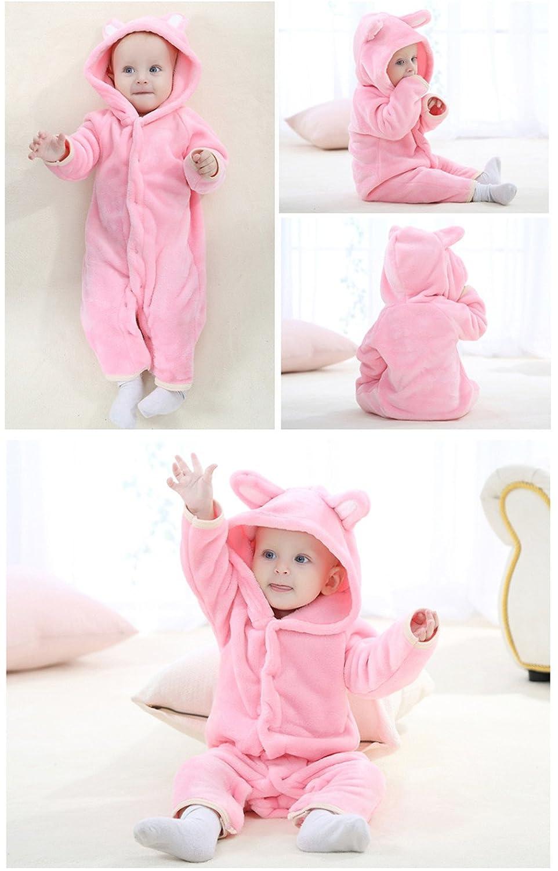 Unisex-Baby Cute Bear Onesie Costume Cartoon Outfit Homewear
