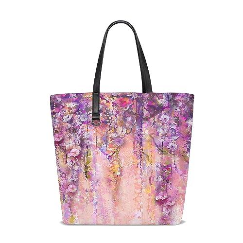 COCO-La Bolsa de mano con diseño de flores para pintar al ...