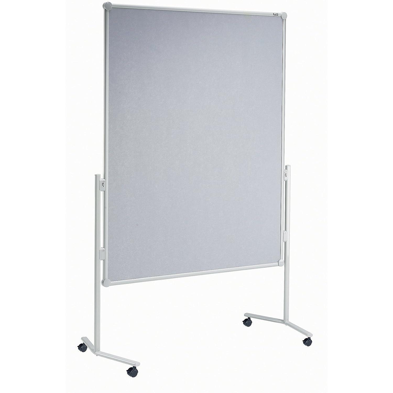 MAUL Professionelle Moderatorentafel 150 x 120cm, Pinnwand aus ...