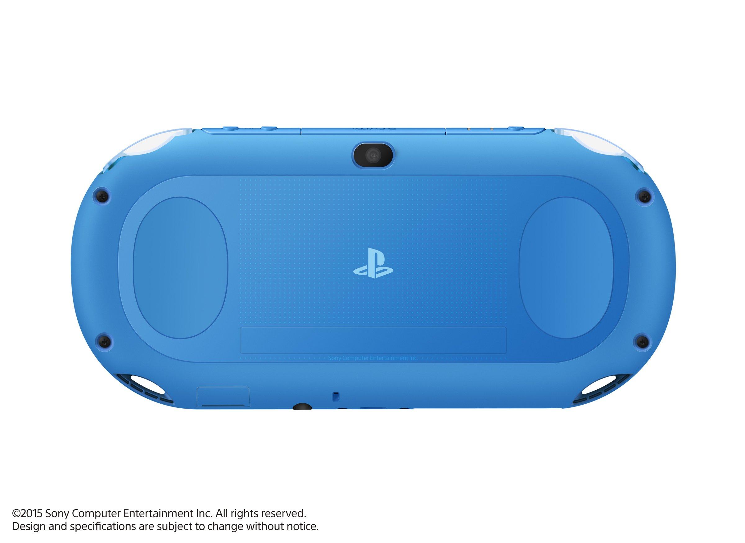 PlayStation Vita Wi-Fi model Aqua Blue (PCH-2000ZA23) Japanese Ver. Japan Import by Sony (Image #4)