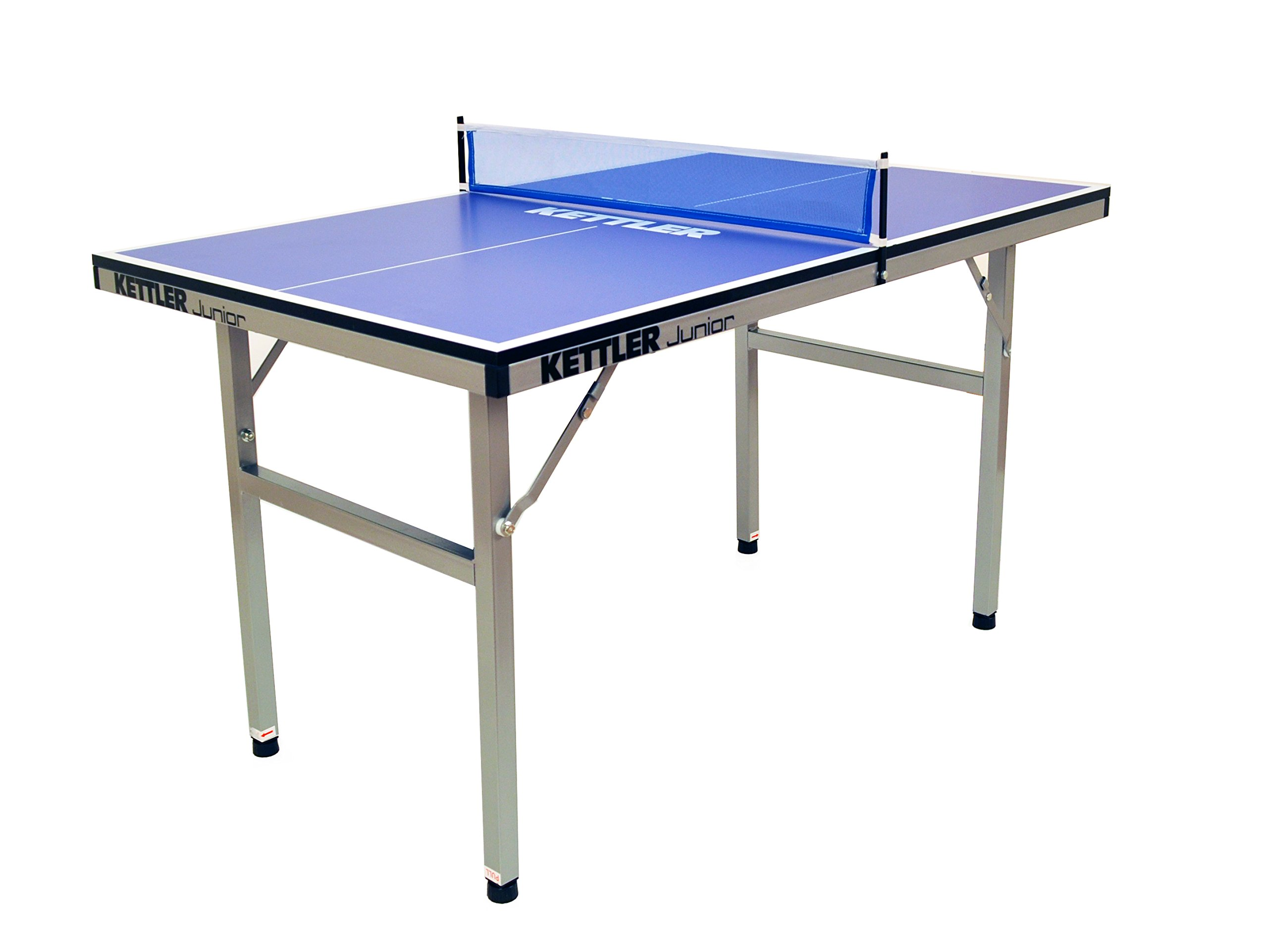 Kettler Junior Mid-Sized Collapsible Indoor Table Tennis Table, Blue Top by Kettler