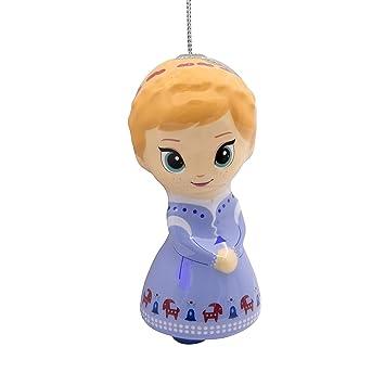 Hallmark Christmas Ornaments, Disney Frozen Anna Decoupage Ornament