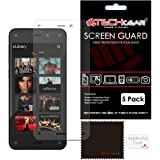 TECHGEAR Premium Clear LCD Screen Protector for Amazon Fire Phone (Pack of 5)
