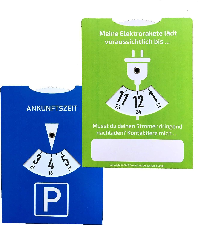 E Autos De Ladescheibe Und Parkscheibe Für Elektroautos Und Plug In Hybride Auto