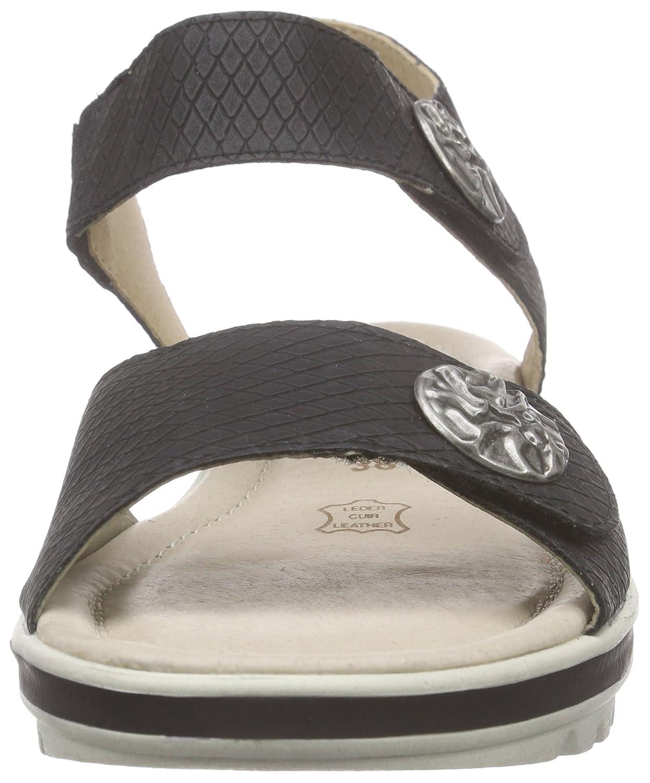 Black sandals ebay uk - 5 Uk Black Schwarz Schwarz 01 Remonte Dorndorf