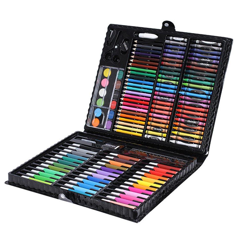Children's Painting Set School Supplies Kindergarten Brush Painting Watercolor Pen Crayon Art Stationery Gift