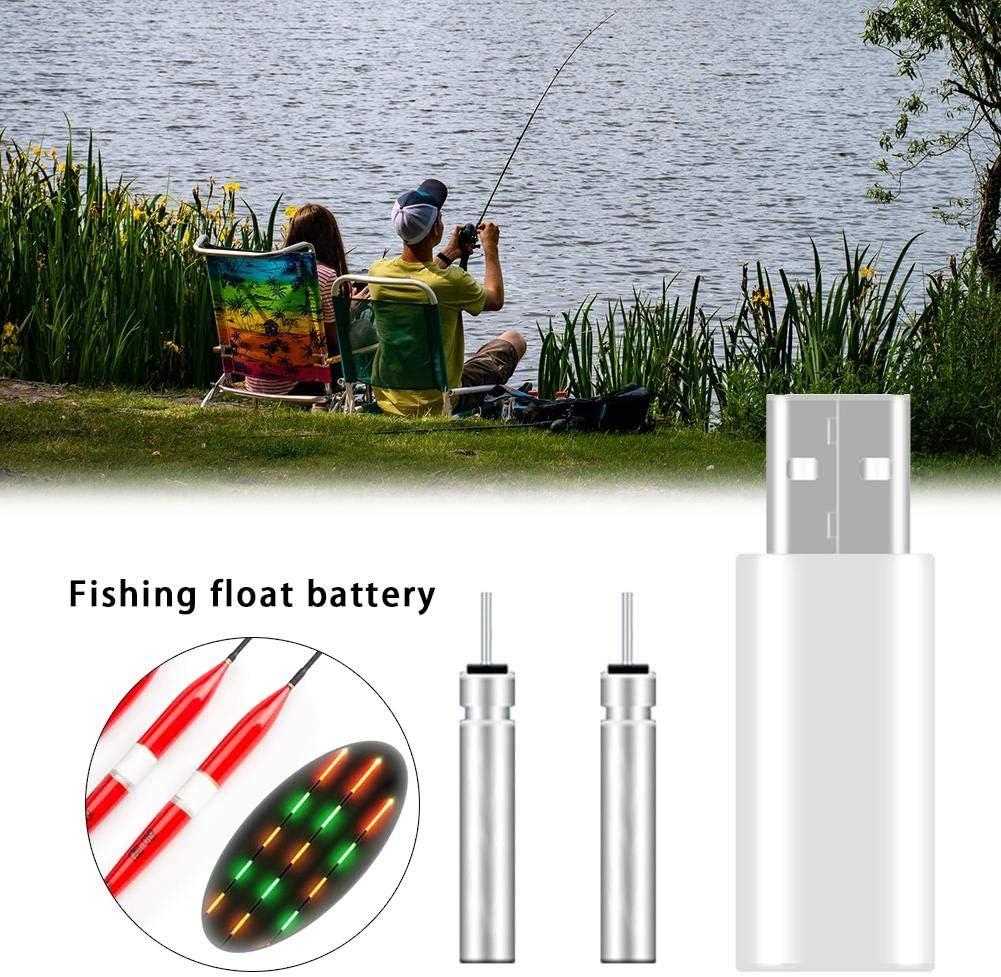 CR425 wiederaufladbare Fishing Float-Ladeger/ät hook.s Leuchtende elektronische Float-Ladeger/ät USB-Ladeger/ät