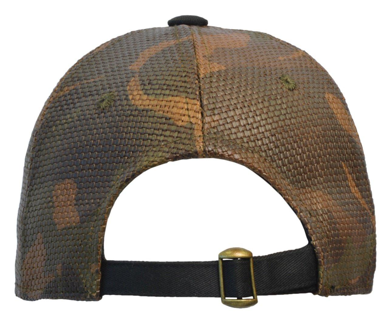 Terra Mens Flat Bill Hat Hip-Hop Snapback Cap Red Line Pattern Adjustable Buckle Closure