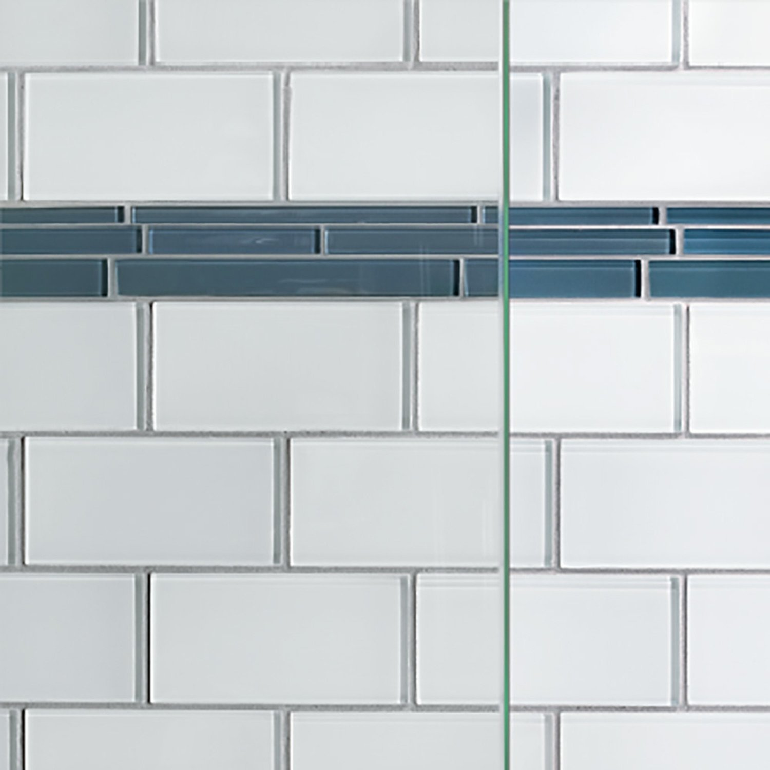 Basco Classic 28.625 to 30.125 in. width, Semi-Frameless Pivot Shower Door, Clear Glass, Silver Finish by Basco Shower Door (Image #4)