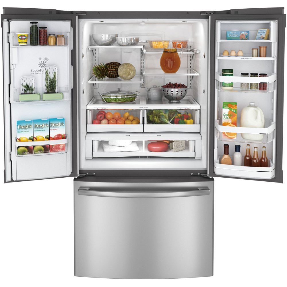 Amazon.com: GE PFE29PSDSS Profile 28.6 Cu. Ft. Stainless Steel French Door  Refrigerator   Energy Star: Appliances