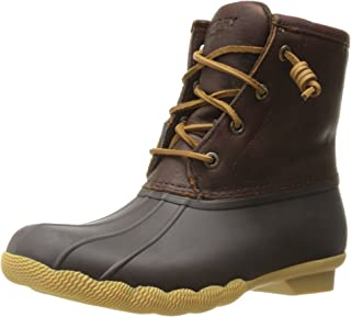Sperry Top-Sider Women's Saltwater Thinsulate Rain Boot Brown 10 M US STS97480