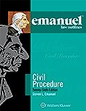 Emanuel Law Outlines for Civil Procedure (Emanuel Law Outlines Series)