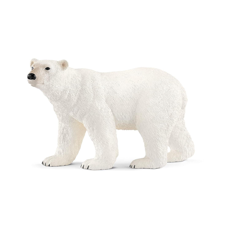 Schleich-14800 Oso Polar, Color Blanco (14800)