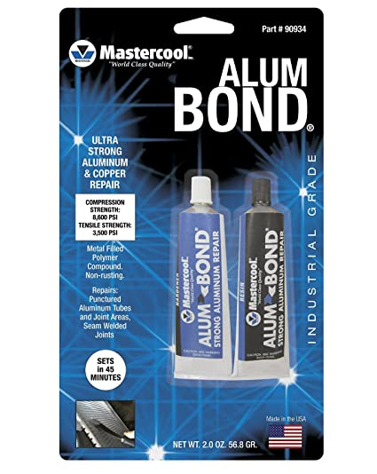 Adhesives, Sealants & Tapes Sporting Hy-poxy H-450 Alumbond 6.5 Oz Aluminum Putty Repair Kit Excellent Quality